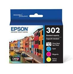 Epson T302XL-BCS Claria Premium Ink Cartridge Multi-pack - High-capacity Black And Standard-capacity Photo Black And Color Cmypb