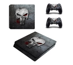 Skin-nit Decal Skin For PS4 Slim: The Punisher 2019
