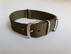 NATO 18MM Watch Strap Khaki Green
