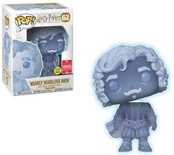 Funko Pop Harry Potter Nearly Headless Nick Glow In The Dark 2018 Summer Convention Exclusive