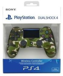 Sony Playstation PS4 Dualshock 4 Controller - Green Camouflage V2 PS4