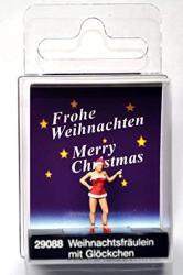 USA Preiser 29088 Christmas Girl With Bell Ho Model Figure