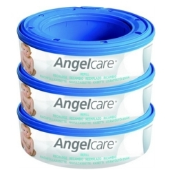 Angelcare 3 Pack Nappy Bin Refill