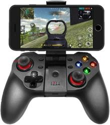 USA Upgraded Mobile Game Controller Wireless Bluetooth Gamepad Joystick Multimedia Game Controller Compatible With Ios Android Iphone Ipad Other Phone Wi