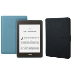 Kindle Paperwhite Wi-fi With S o 8GB 10TH Gen 2018 Blue With Black Cover