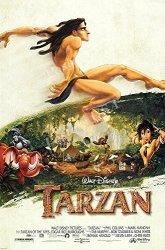 "Posters USA Poster Usa - Disney Classics Tarzan Poster Glossy Finish - DISN143 24"" X 36"" 61CM X 91.5CM"