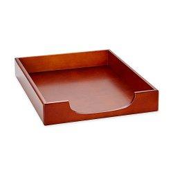 Sanford Rolodex Elegant Warm Metropolitan Look Desk Tray 23350