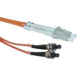 Ultra Spec Cables 1M Multimode Duplex Fiber Optic Cable 62.5 125 - Lc To St