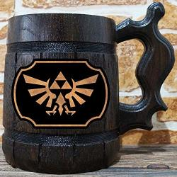 Zelda Wingcrest Beer Mug Beer Stein Gamer Gift Loz Personalized Beer Stein The Legend Of Tankard Custom Gift For Men Gift For Him