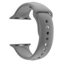 42MM Silicone Apple Watch Strap By Zonabel - Grey