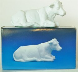Avon Nativity Collectibles - The Cow Porcelain Figurine