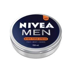 Nivea Men Even Tone Face Cream Tin - 150ML