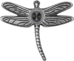 Waterwood Solid Brass Summer Dragonfly Doorbell In Pewter