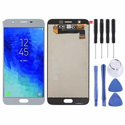 Nobrand Yblhzpsh Lcd Screen And Digitizer Full Assembly For Galaxy J7 2018 J737 Black Q Color : Grey