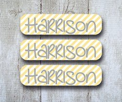 Lollipop Labels Back To School Labels Package - Personalized Name Labels - Dishwasher Safe Bottle Labels Iron On Laundry Care Tag Clothing Labels And 2 Bag Tags