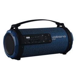 Volkano Urban Series Fabric Tube Bluetooth Speaker - Blue