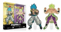 Figpin 2019 Sdcc Exclusive Funimation XL Dragon Ball Set Of 2 - Super Gogeta X15 + Super Broly X16 - Limited Edition 1000
