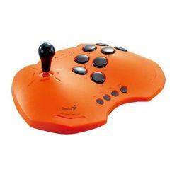 Genius Maxfighter Arcade Joystick For Ps Orange
