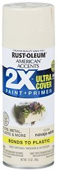 Rust-oleum 327882-6 Pk American Accents Spray Paint Gloss Navajo White