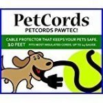 PetCords Dog And Cat Cord Protector- Protects Your Pets From Chewing Through Insulated Cables Up To 10FT Unscented Odorless