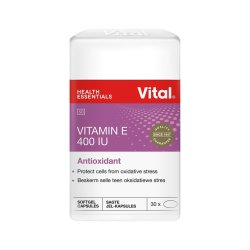 Vital Vitamin E 400 Iu 30 Capsules