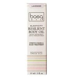 Basq Resilient Body Oil In Lavender .5 Oz