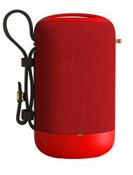 Portable Waterproof Outdoor Wireless Speakers Enhanced Bass Sync Together Built In MIC Tf Card Auto Off Fm Radio For Beach Showe