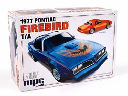 Mpc 1977 Pontiac Firebird T a 1:25 Scale Plastic Model Kit