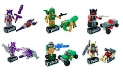 Kreo Transformers Micro Changers Minifigures Mystery Packs- Bundle Of 6 Mystery Packs From Collection 4