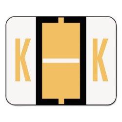 Smead A-z Color-coded End Tab Filing Labels Label Fldr Endtb K-loe 5C Pack OF8