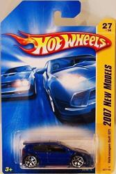 Volkswagen Golf GTI Blue Hot Wheels 2007 First Editions