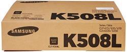 Samsung CLT-K508L Toner Cartridge Black High Yield For CLP-615 620 670 CLX-6220 6250