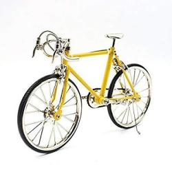 T.y.s Racing Bike Model Alloy Simulated Road Bicycle Model Decoration Gift Christmas Brithday Gifts For Dad Boy And Cyclist Yell