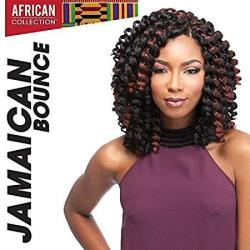 "Bounce Jamaican 26"" 1B Off Black - Sensationnel African Collection Crochet Braid"
