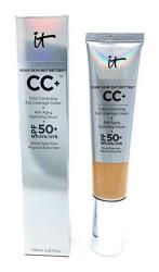 It Cosmetics Cc+ Cream Spf 50 Light Medium Full Coverage 1.08 Ounces