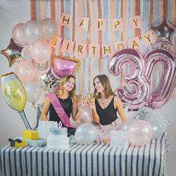 Q4C 30TH Birthday Decorations