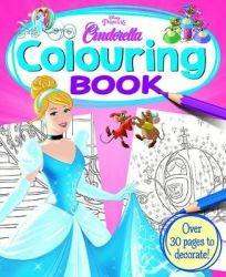 Disney Princess Cinderella Colouring Book