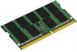 Kingston 4GB DDR4 2666MHZ Sodimm 260 Pins Notebook Memory – Unbuffered Non-ecc PC4-21300 Cas Latency CL17 Memory Voltage 1.20 V Retail Box Limited Lifetime