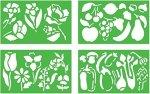 Quercetti Flower Stencil