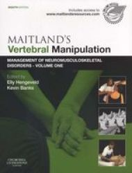Maitland&#39 S Vertebral Manipulation Volume 1 - Management Of Neuromusculoskeletal Disorders paperback 8th Revised Edition
