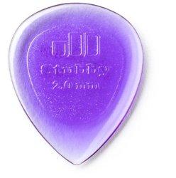 Dunlop 474R 2.0MM Stubby Jazz Guitar Pick Purple