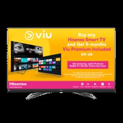 "HISENSE 65"" Premium Uhd Smart Uled Tv With Quantum Dot & Jbl Sound System"
