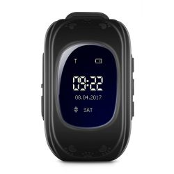 Q50 BLACK Kids Gps Smart Watch With Call Function