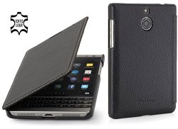 STILGUT Book Type Genuine Leather Case For Blackberry Passport Silver  Edition Black Nappa | R | Office Supplies | PriceCheck SA