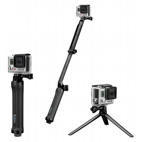 GoPro 3-Way Grip Arm & Tripod