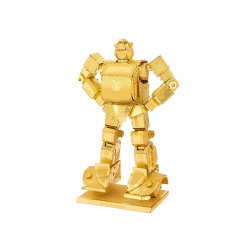 Metal Earth Transformers Gold Bumblebee Gold