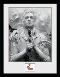 1ART1 GmbH The Evil Within Framed Collector Poster - 2 Key Art 16 X 12 Inches