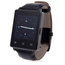 Gearbest D6 3G Bluetooth Gps Wifi Smartwatch Phone With Heart Rate Monitoring For Android 5.1 Ios B