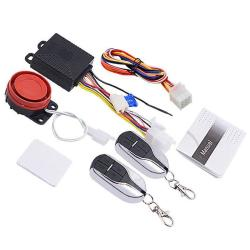 Motorcycle Smart Unidirectional Security Alarm System With Remote Control Key