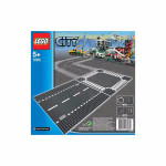 LEGO CITY Straight & Crossroad